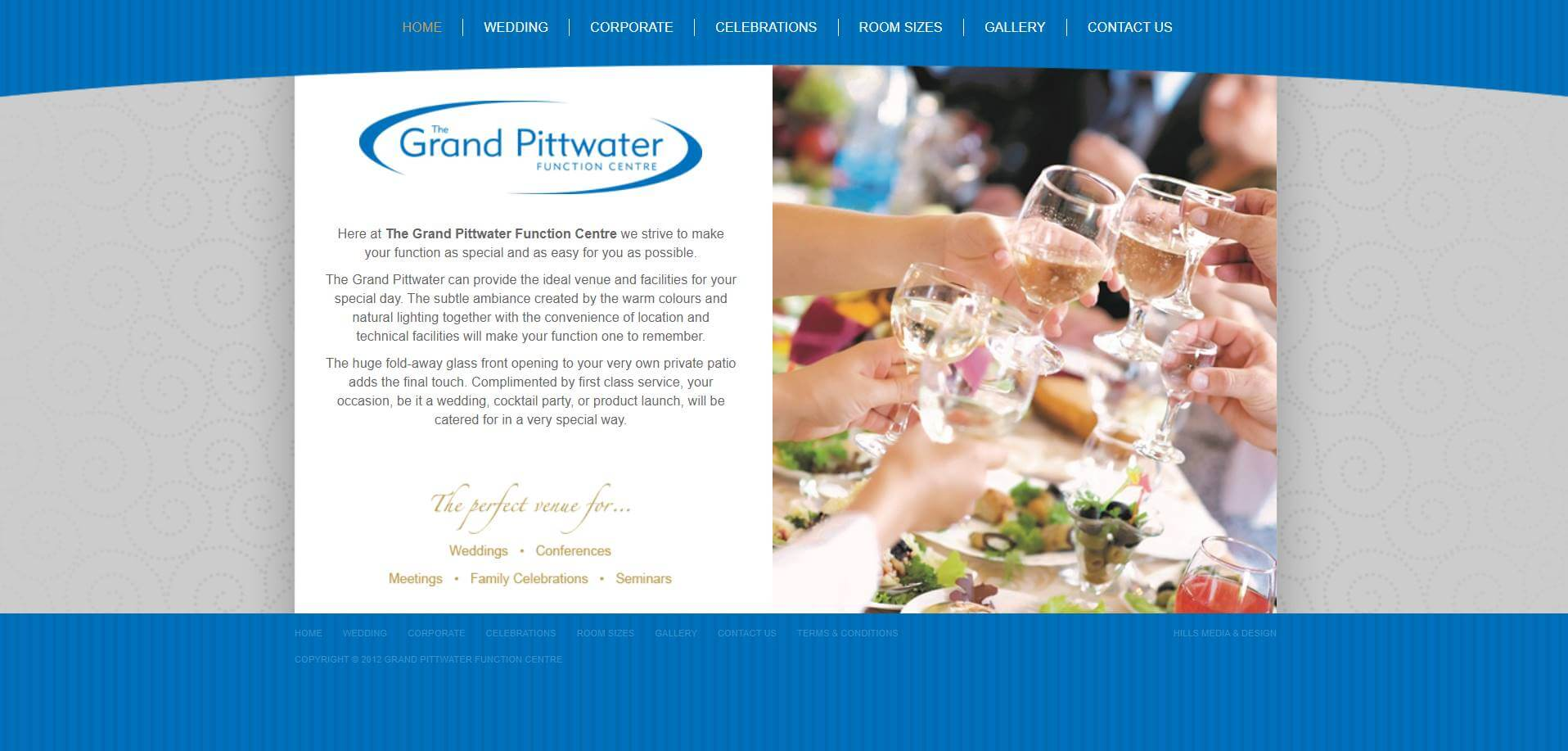 the grand pittwater function centre