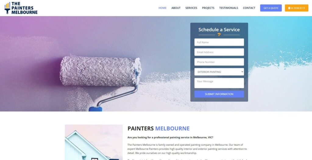 the painters melbourne 1