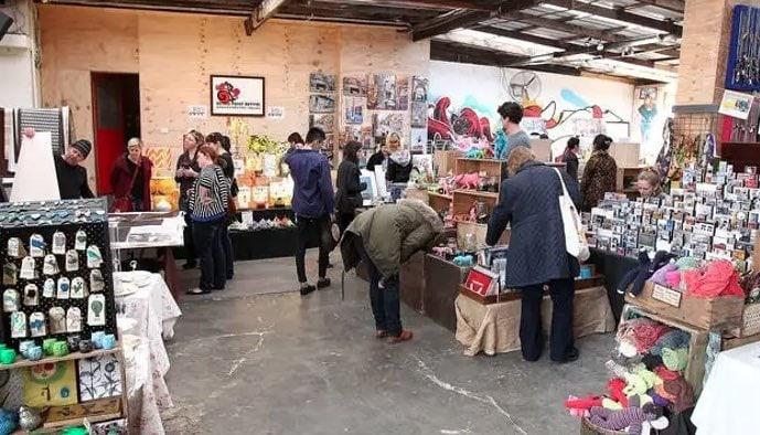 the rose street market ask melbourne