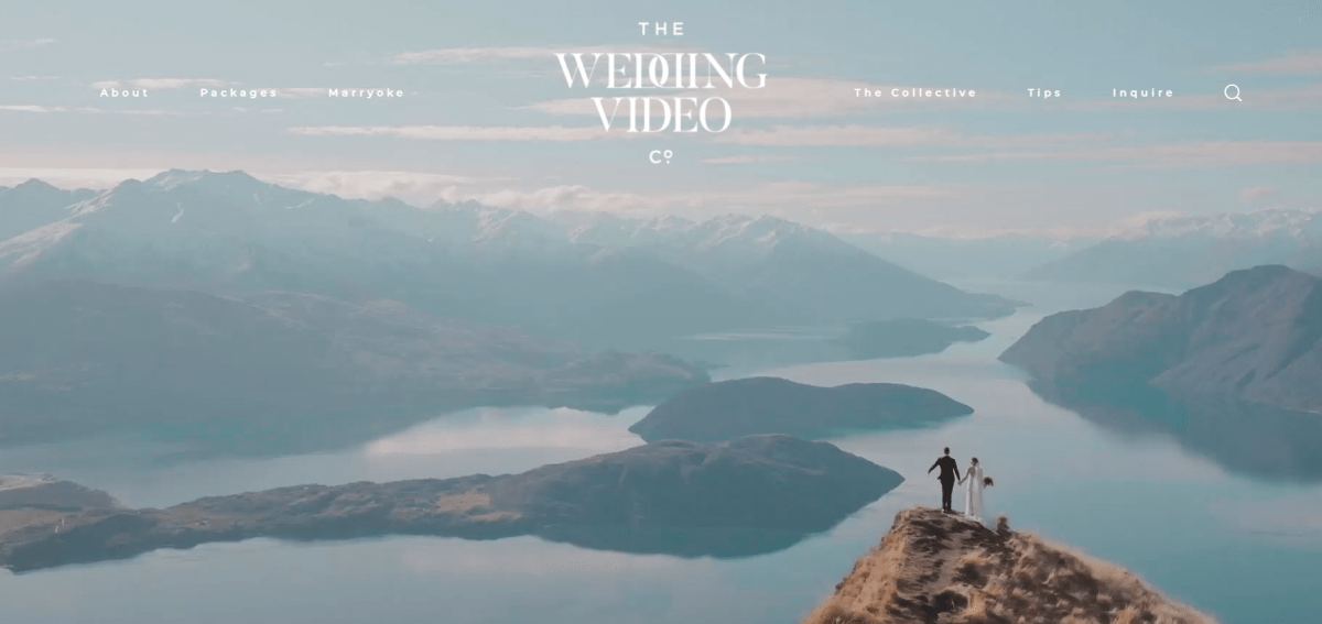 the wedding video co