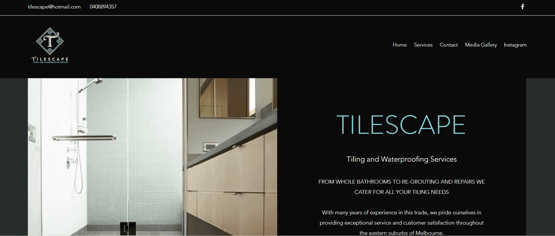 tilescape tiling waterproofing services