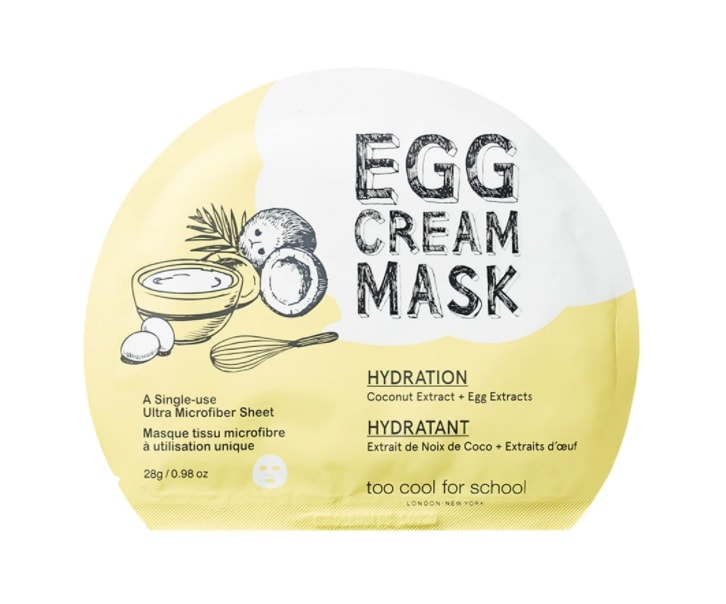 too cool for school skin tightening face mask
