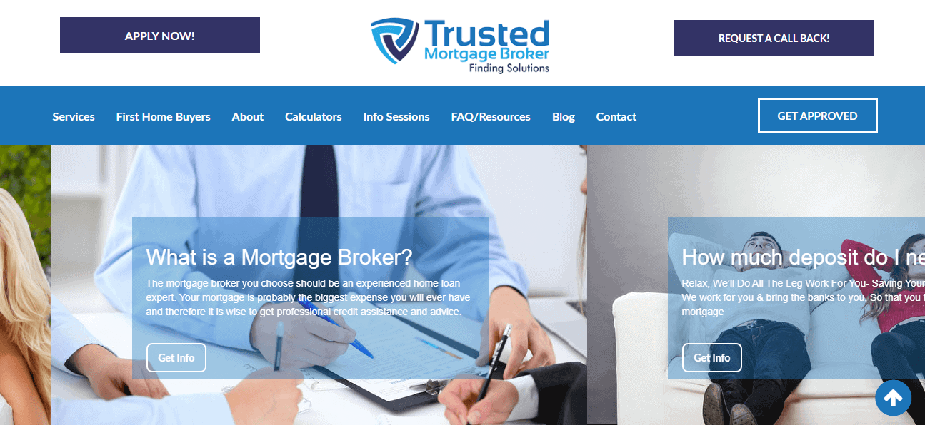 trusted mortgage broker