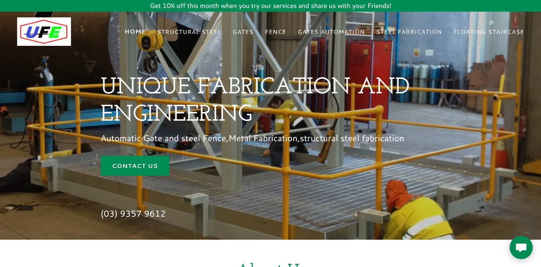unique fabrication and engineering