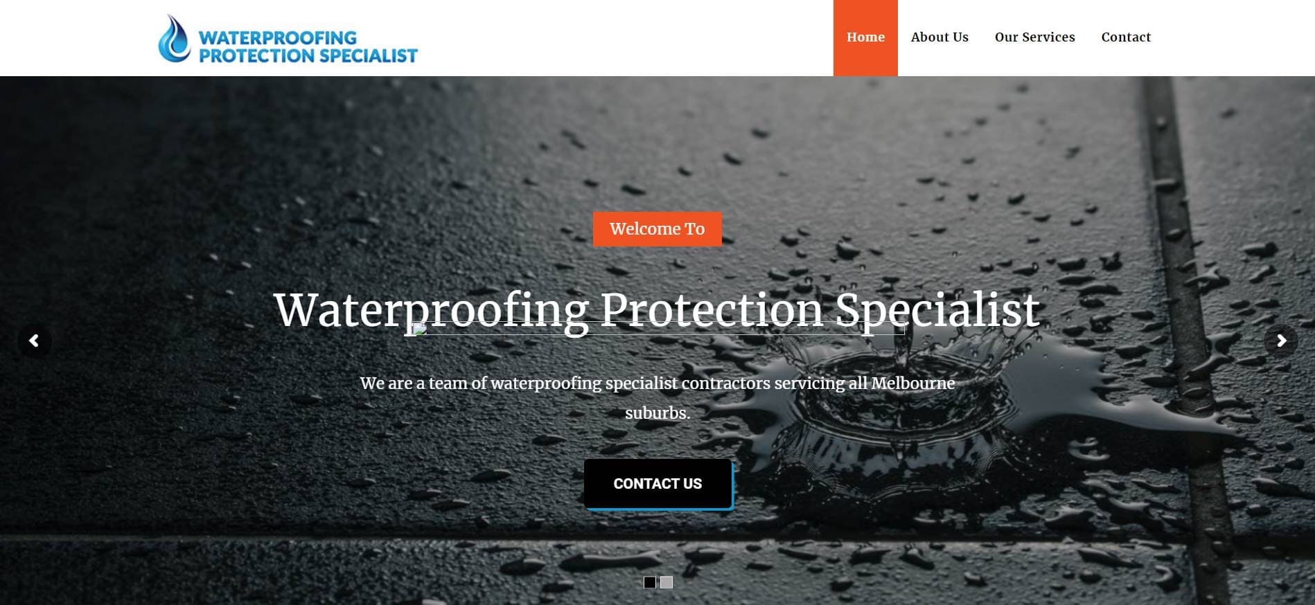 waterproofing protection specialist