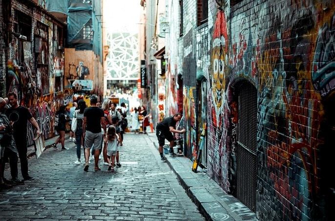 adventure clues street art melbourne feature image feat block