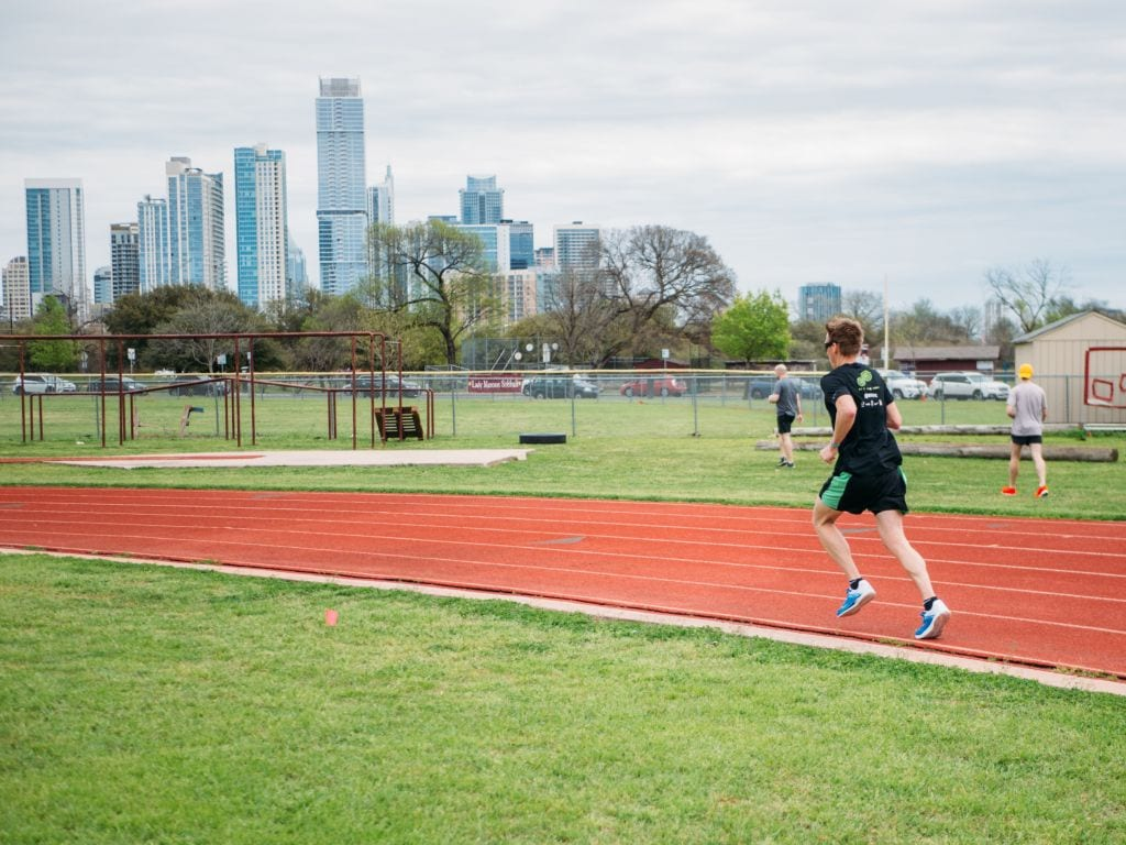running track melbourne